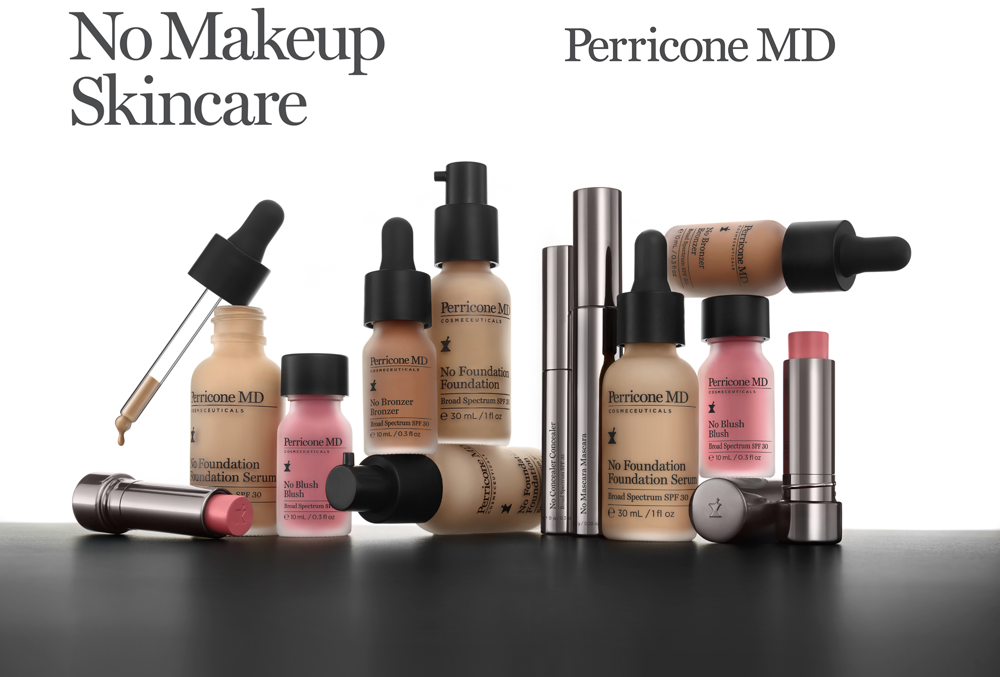 No makeup skincare Perricone md