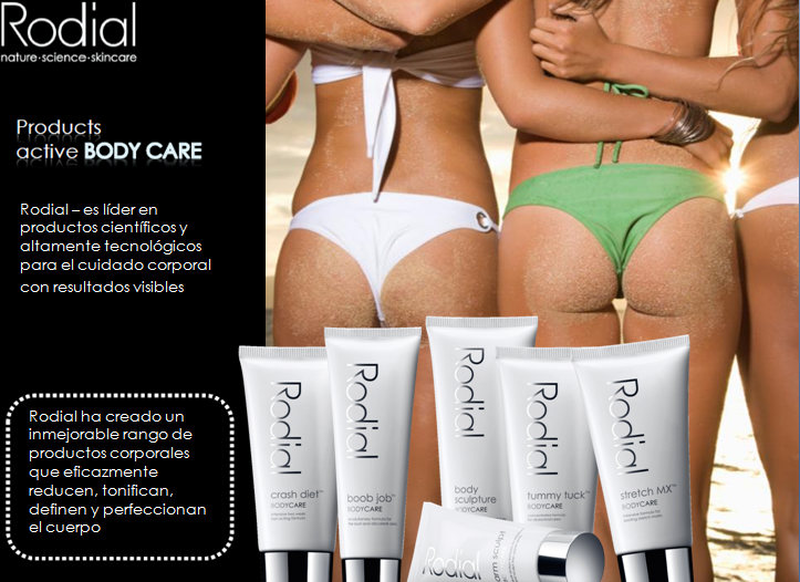 RODIAL ACTIVE BODY CARE