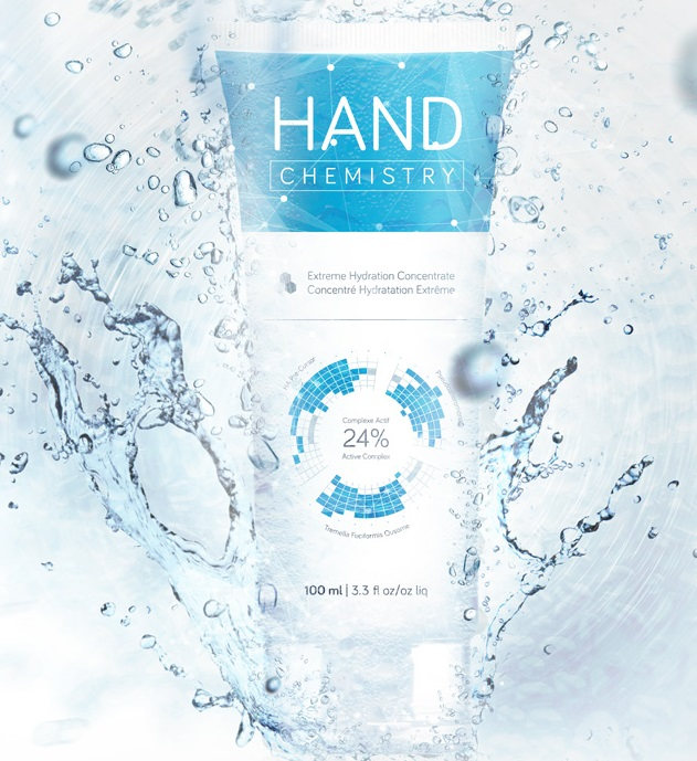 hand chemistry extreme hydration complex