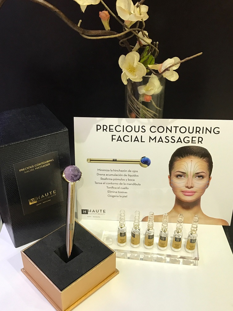 precious contouring facial massager haute custom beauty