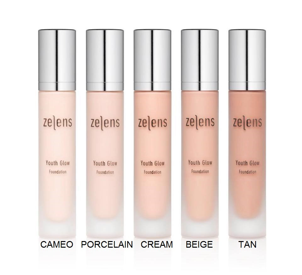 Zelens Active Colour Youth glow foundation