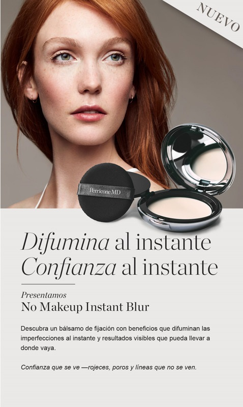 No Makeup Instant Blur PerriconeMd